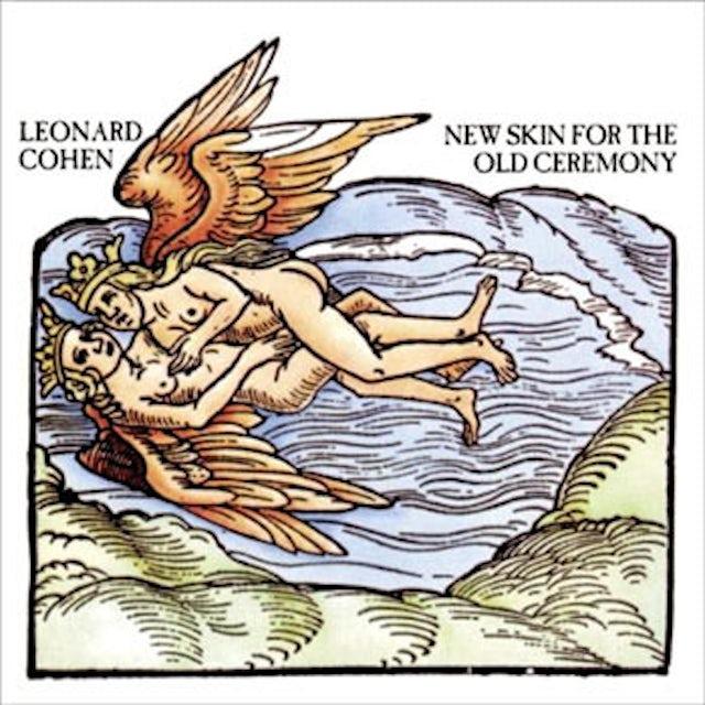 Leonard Cohen NEW SKIN FOR THE OLD CEREMONY Vinyl Record
