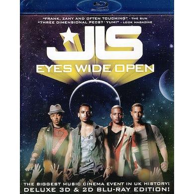 JLS EYES WIDE OPEN Blu-ray