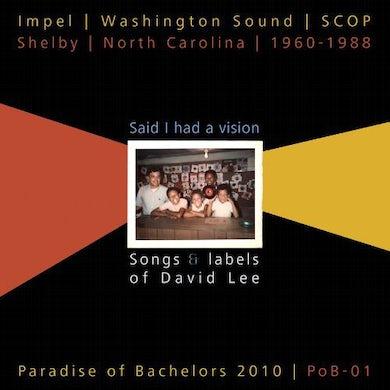 David Lee SAID I HAD A VISION / VARIOUS Vinyl Record