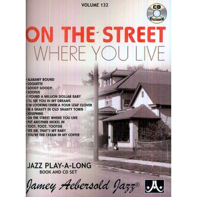 Jamey Aebersold ON THE STREET WHERE YOU LIVE CD