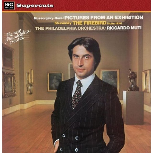 Riccardo / Philadelphia Orch PICTURES FROM AN EXHIBITION & THE FIREBIRD Vinyl Record