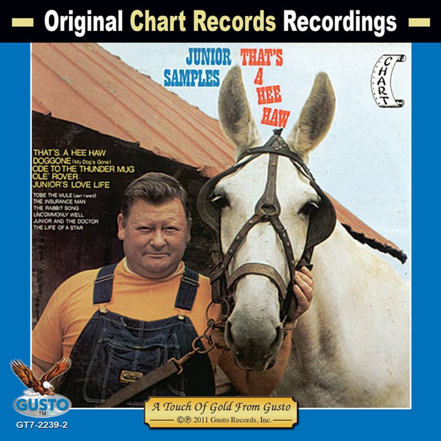 Junior Samples THAT'S A HEE HAW CD
