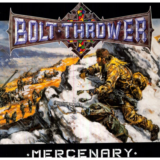 Bolt Thrower MERCENARY Vinyl Record