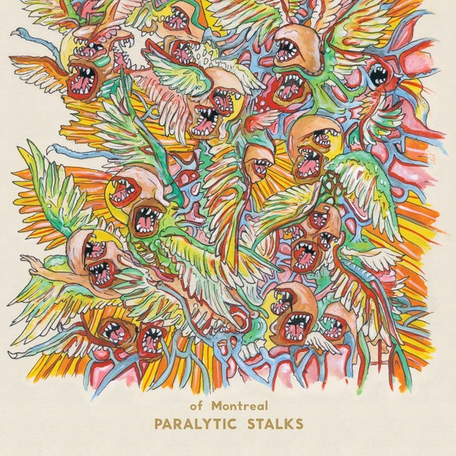 Of Montreal PARALYTIC STALKS Vinyl Record