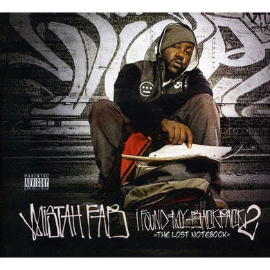 Mistah Fab I FOUND MY BACKPACK 2: THE LOST NOTEBOOK CD