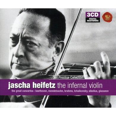 Jascha Heifetz INFERNAL VIOLIN CD