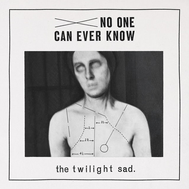 Twilight Sad NO ONE CAN EVER KNOW CD