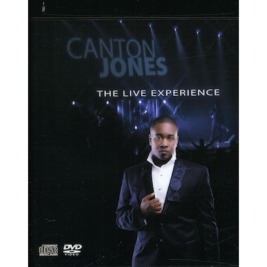 Canton Jones LIVE EXPERIENCE CD