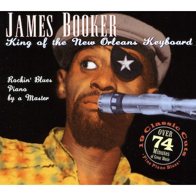 James Booker KING OF THE NEW ORLEANS KEYBOARD CD
