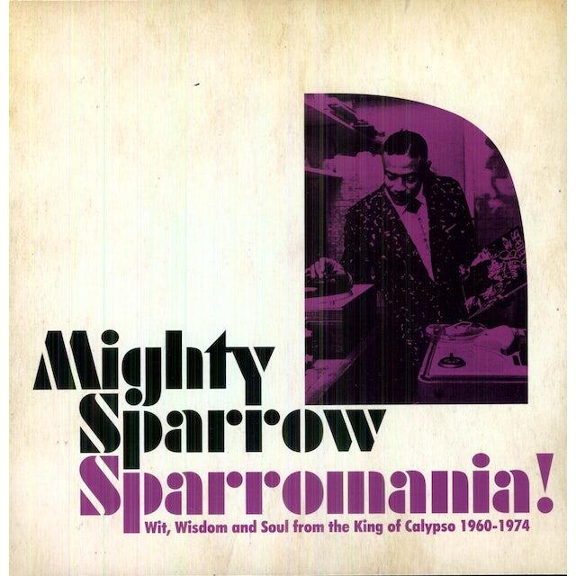 Mighty Sparrow SPARROWMANIA Vinyl Record