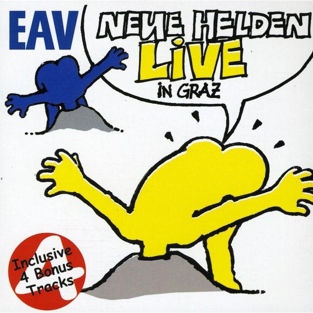 EAV NEUE HELDEN BRAUCHT DAS LAND: LIVE CD