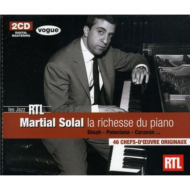 RTL: MARTIAL SOLAL CD