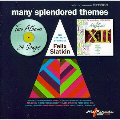 Felix Slatkin MANY SPLENDORED THEMES CD