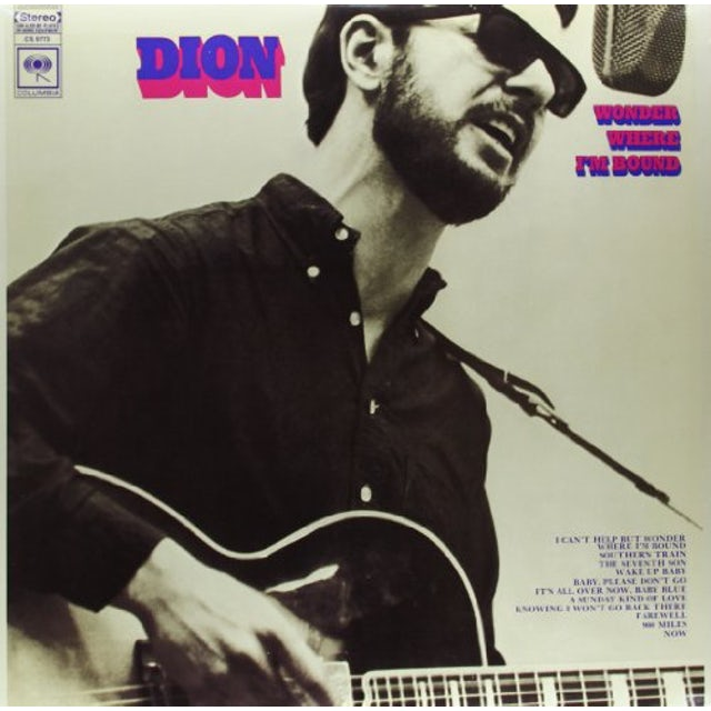 Dion WONDER WHERE IM BOUND Vinyl Record