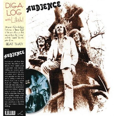 Audience Vinyl Record - w/CD