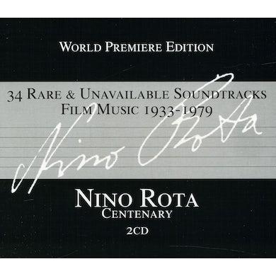 Solisti e Orchestre del Cinema Italiano NINO ROTA CENTENARY: RARE & UNAVAILABLE Original Soundtrack CD