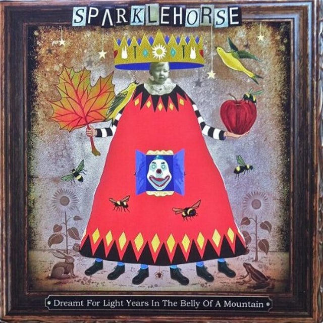 Sparklehorse DREAMT FOR LIGHT YEARS IN THE BELLY OF A MOUNTAIN Vinyl Record