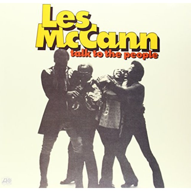 Les Mccann TALK TO THE PEOPLE Vinyl Record