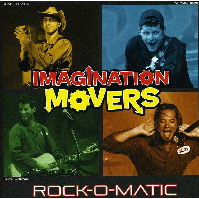 Imagination Movers ROCK-O-MATIC CD