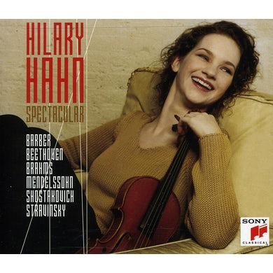 HILARY HAHN SPECTACULAR CD