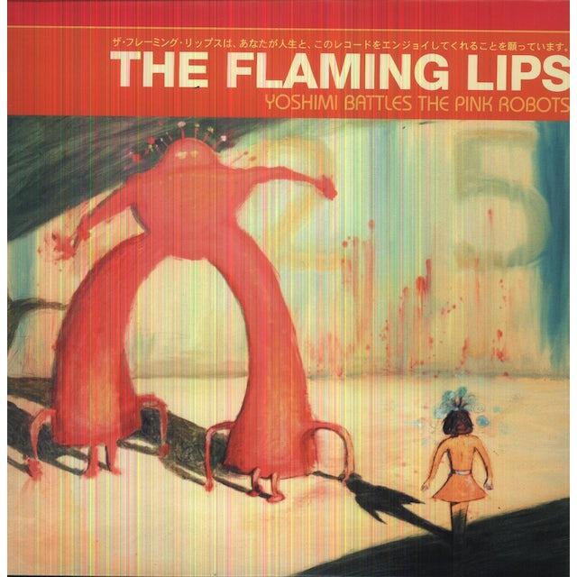The Flaming Lips YOSHIMI BATTLES THE PINK ROBOTS Vinyl Record