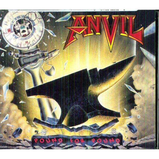 Anvil POUND FOR POUND CD