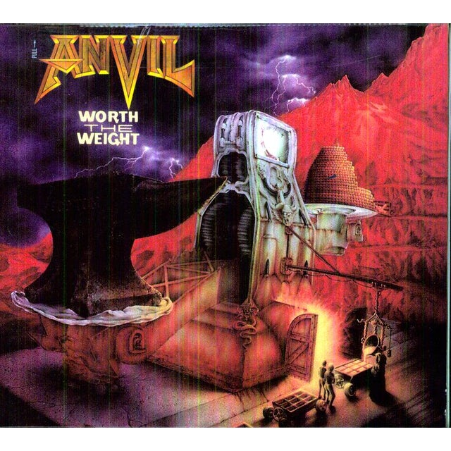Anvil WORTH THE WEIGHT CD