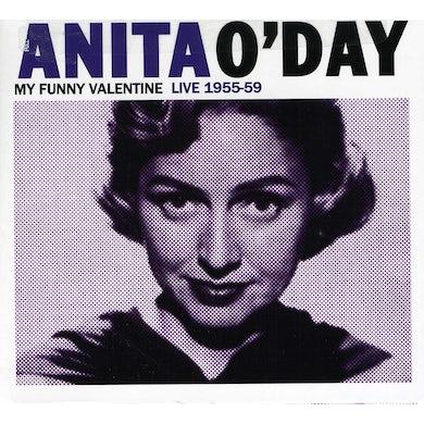 Anita O'Day MY FUNNY VALENTINE LIVE 1955-59 CD