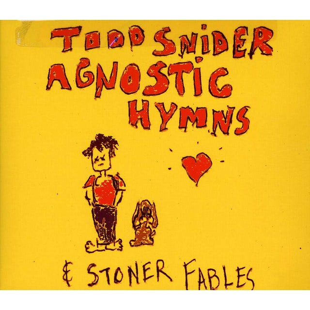 Todd Snider AGNOSTIC HYMNS & STONER FABLES CD