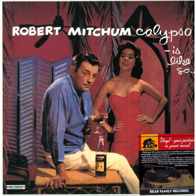Robert Mitchum CALYPSO IS LIKE SO Vinyl Record