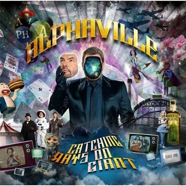 Alphaville CATCHING RAYS ON GIANT CD
