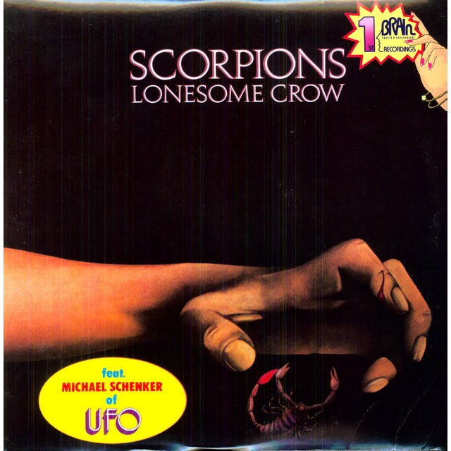 Scorpions LONESOME CROW Vinyl Record