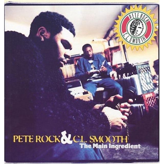 Pete Rock & C.L. Smooth MAIN INGREDIENT Vinyl Record