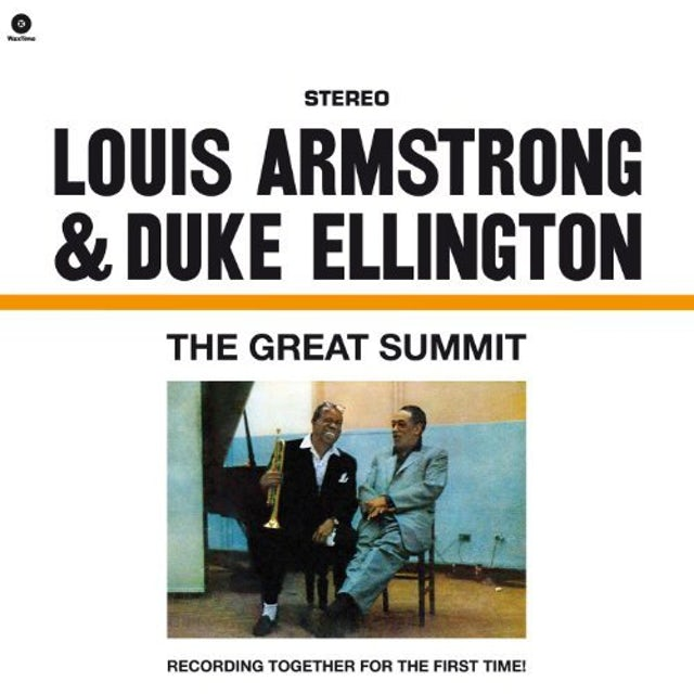 Louis Armstrong & Duke Ellington GREAT SUMMIT (BONUS TRACK) Vinyl Record - 180 Gram Pressing