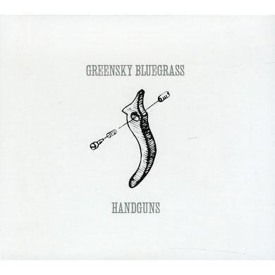 Greensky Bluegrass HANDGUNS CD