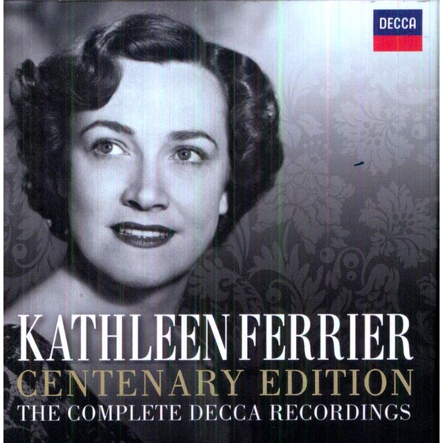 Kathleen Ferrier CENTENARY EDITION: THE COMPLETE DECCA RECORDINGS CD
