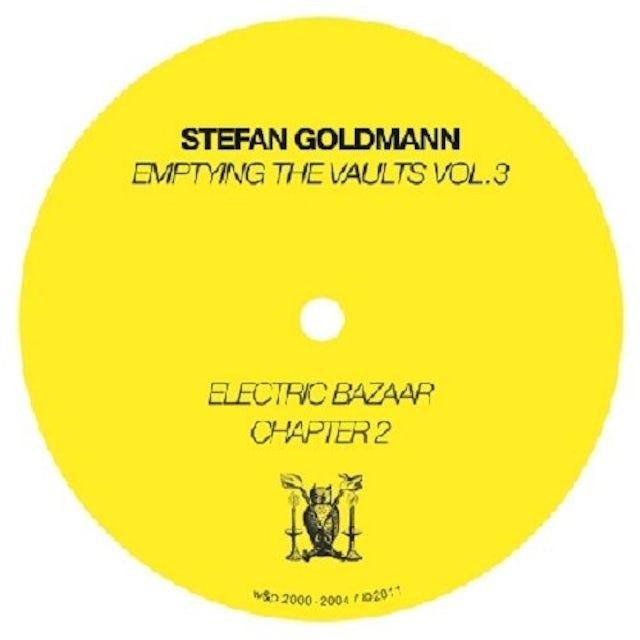 Stefan Goldmann EMPTYING THE VAULTS 3 Vinyl Record