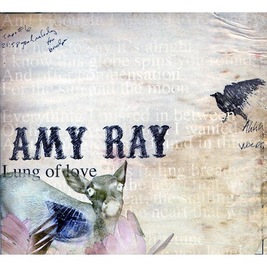Amy Ray LUNG OF LOVE CD