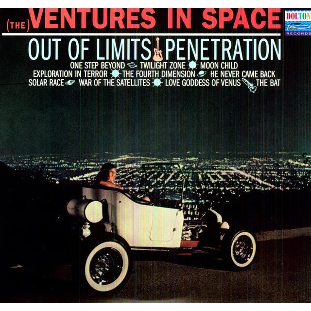 Ventures IN SPACE Vinyl Record