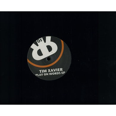 Tim Xavier PLAY ON WORDS (EP) Vinyl Record