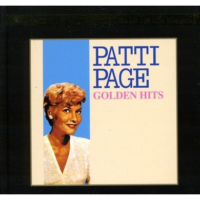 Patti Page GOLDEN HITS CD