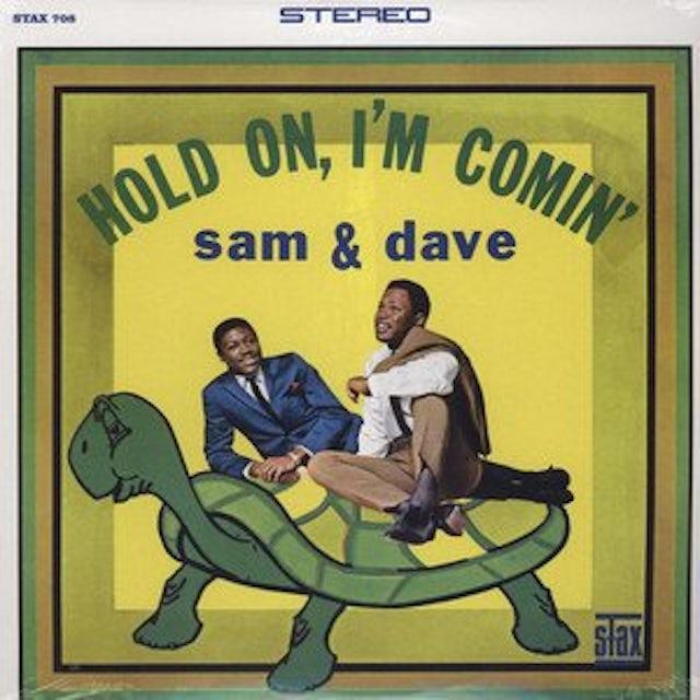 Sam & Dave HOLD ON I'M COMIN Vinyl Record
