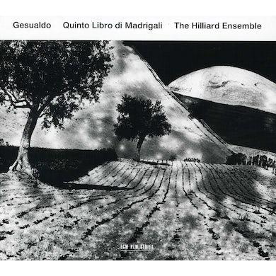 Hilliard Ensemble CARLO GESULADO QUINTO LIBRO DI MADRIGALI CD