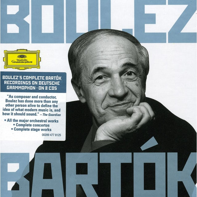 Pierre Boulez BARTOK CD