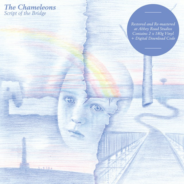 The Chameleons SCRIPT OF THE BRIDGE Vinyl Record
