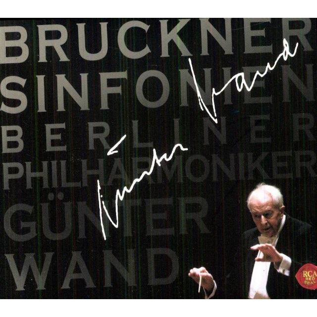 Bruckner / Gunter Wand BRUCKNER: SYMPHONIES CD