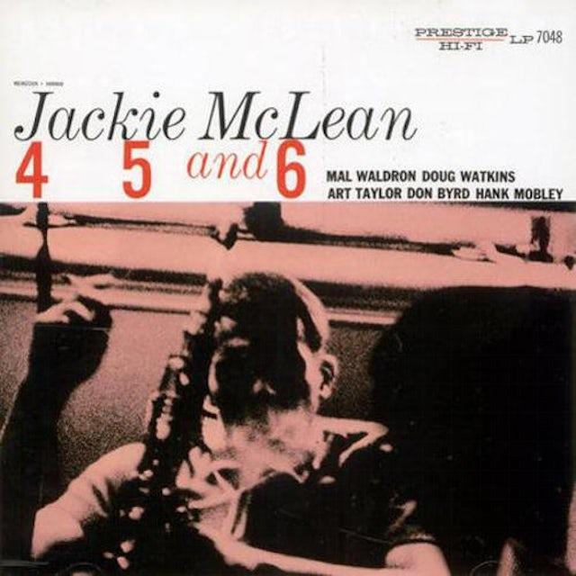 Jackie Mclean 4, 5 & 6 Vinyl Record