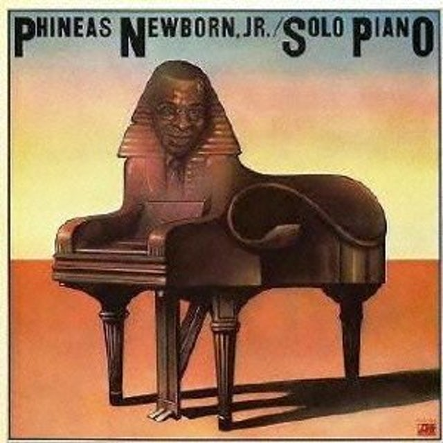 Phineas Newborn SOLO PIANO CD