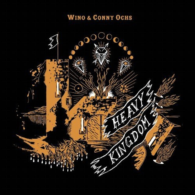 Wino & Conny Ochs HEAVY KINGDOM Vinyl Record