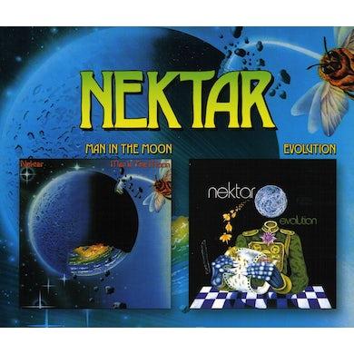 Nektar MAN IN THE MOON / EVOLUTION CD